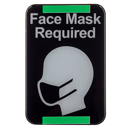 """10706 """"Face Mask Required"""" Compliance Sign 116U4541"""