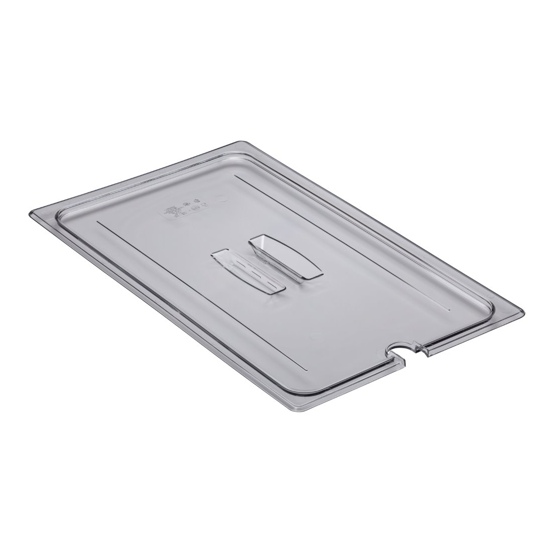 10CWCHN135 Camwear® Full Size Notched Food Pan Cover 8P2810CN